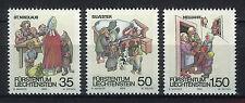LIECHTENSTEIN 1990 MNH SC.952/954 Holiday Customs