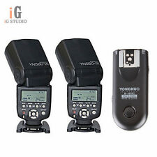 Yongnuo RF-603II Remote Trigger + 2pcs YN560 III Flash Speedlite Kit for Nikon