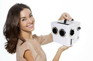Transcool E3 - White/Black 4 Vent Portable 12 Volt Air Cooler