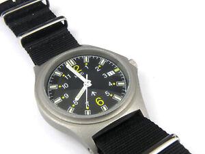 Men's MWC G10 PVD H3 Tuna Can Military Quartz Watch – 100m