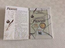 Pièce de 2€ commémorative Italie 2012 Giovanni Pascoli
