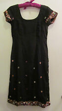 Salwar Kameez/Kurti/Sari/Sana Safinaz/Asim Jofa/Elan Party Tunic Dress S WOW!