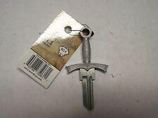 Sword 3D Schlage SC1 house key blank, very cool!!