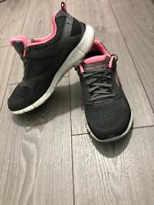skechers Lite-weight Air Cooled Memory Foam Women's Trainers Size Uk 5