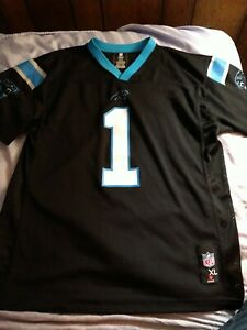 Carolina Panthers Cam Newton Jersey Youth Size Extra Large Nike On Field #1