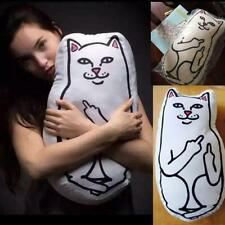 Ripndip Cute Pussy Cat Cushion Lord Nermal Hugging Body Pillows Boyfriend Doll!~