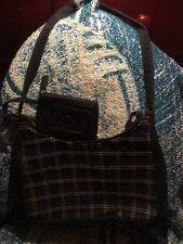 Liz Claiborne Women's Shoulder Bag Black Medium Good Condition