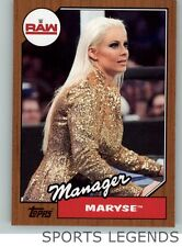 2017 WWE Heritage bronze #57 Maryse