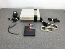 Original NES System with Mario/Duck Hunt Controllers & Accessories