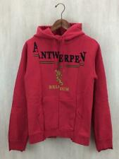 VETEMENTS zip HOODIE Red Cotton MAH18TR22 Size XS Used From Japan F/S