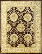 Hand Knotted Modern Farhan Area Rug Brown/Beige Color Persian Rugs Size (5 x 7)