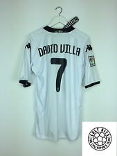 Valencia DAVID VILLA #7 09/10 *BNWT* Home Football Shirt (XL) Soccer Jersey Kapp
