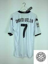 Valencia DAVID VILLA #7 09/10 *BNWT* Home Football Shirt (XL) Soccer Jersey Kapp