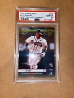 2019 Topps Moment Of The Week GOLD # 9W AUSTIN RILEY RC Rookie Gem MINT PSA 10