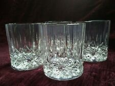 Royal Crystal Rock/RCR OPERA Double Old Fashioned Glasses - Set/4  FREE U.S.SHIP