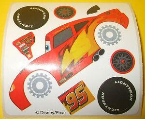 "DISNEY/PIXAR Cars Movie Car #95 HOT ROD Red Racing Car Flames Wheels Tires 2.5"""