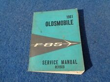 1961 Olds Oldsmobile FACTORY SERVICE MANUAL F-85