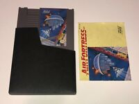 Air Fortress w/Manual & Sleeve Nintendo Nes Cleaned & Tested Authentic