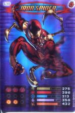 Spiderman Heroes And Villains Card #130 Iron Spider Lenticular