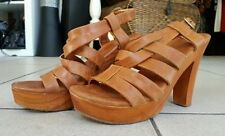 Unbranded Casual Solid Sandals Heels for Women