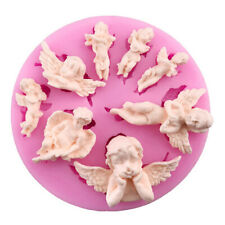 Angel Baby Silicone Mold Fondant Mould Chocolate Mould Cake Decorating Too_cx