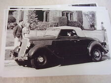 1935 FORD CABRIOLET ROADSTER  11 X 17  PHOTO /  PICTURE