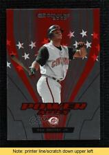 2005 Donruss Power Alley Red 2265/2500 Ken Griffey Jr #PA-13 HOF READ
