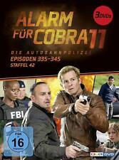 ALARM FÜR COBRA 11-STAFFEL 42 -   3 DVD NEW