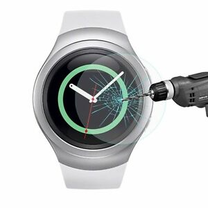 Tempered Glass Screen Protector for Samsung Galaxy Gear S2 SM-R720 Smart Watch