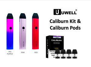 UWELL CALIBURN All in One AIO Pod Vape Kit Device or Replacement Pods with Coils