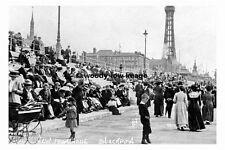 pt7286 - Blackpool , New Promenade , Lancashire - photograph 6x4