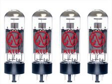 4x KT77 JJ-Electronic MATCHED NUOVE, new valvola tube QUARTETTO QUAD