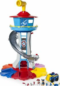 Paw Patrol - My Size Lookout Tower with Exclusive Vehicle, Rotating Periscope...
