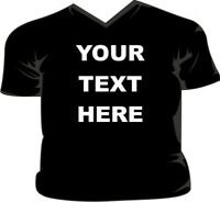 Your Text Here - Design your own V-Neck T-Shirt