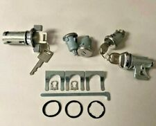 NEW 1974-1977 Bel Air, Impala, Caprice Complete OE style Lock Set with GM Keys