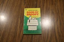 Everybodys Best Friend Good Ol' Snoopy By Charles M. Schulz 1958