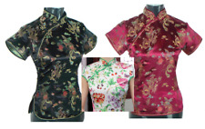 New Arrivals Womens Chinese Blouses Chinese Style Qipao/Cheongsam Blouses UK8-14