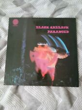 Black Sabath Paranoid Vertigo Label Rare Heavy Metal Rock Album Lp Record Ozzy