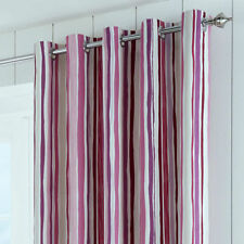 Cotton Striped Window Curtains & Drapes