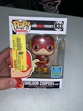 Funko POP - TV - The Big Bang Theory - Sheldon Cooper #833 - 2019 SDCC - Flash