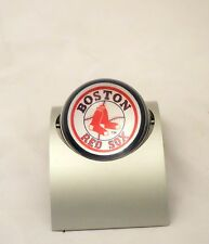 MLB Boston Red Sox Modern Spinning Two Sided Desk Clock Arch Fresh Battery
