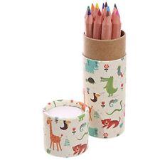 Tubo de lápiz para colorear divertido Niños-Diseño Zoo