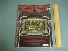 The Evolution of Blast Beats by Derek Roddy w/ CD ~ 120 Pgs.