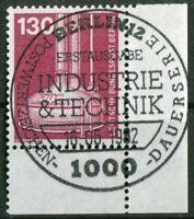 Berlin Nr. 669 Formnummer FN 1B Eckrand gestempelt ESST Berlin 12 Typ I LUXUS