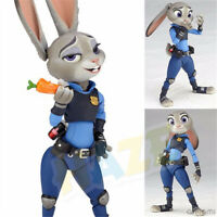 Movie Zootopia Judy Hopps Rabbit PVC  Action Figure Model Collection 11cm In Box