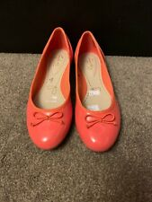 Clarks Coral Ladies Women Flat Heels Shoes Size 4 (37)