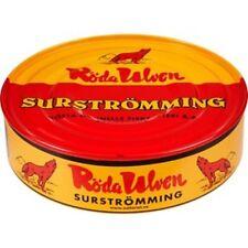Röda Ulven Surströmming 400g / 300g Fisch Dose (fermentierte Heringe)