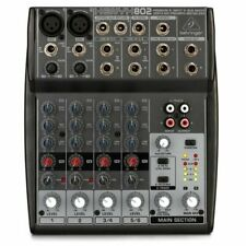 Behringer Xenyx 802 8 Channel PA Mixing Console