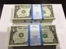 10  New Uncirculated $1 One Dollar Bills FRN from Chicago Series 2013