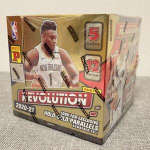 2020-21 Panini Revolution Basketball Asia Tmall Exclusive Box NBA (60 Cards)